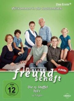 In aller Freundschaft - Die 13. Staffel, Teil 1, 24 Folgen (6 Discs)
