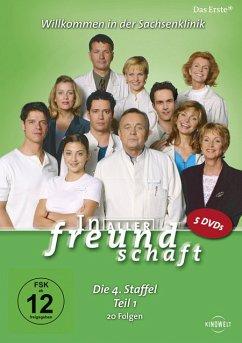 In aller Freundschaft - Die 04. Staffel, Teil 1, 20 Folgen (5 Discs)