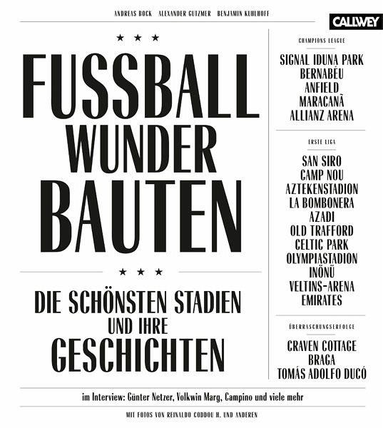 Fussball Wunder Bauten Von Andreas Bock Alexander Gutzmer Benjamin Kuhlhoff Portofrei Bei Bucher De Bestellen