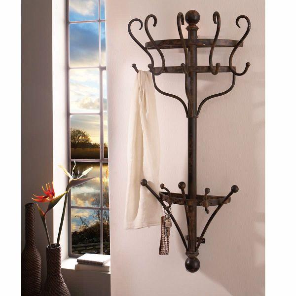 miavilla garderobe knight schwarz braun portofrei bei. Black Bedroom Furniture Sets. Home Design Ideas