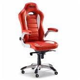 Bürostuhl Racing Rot