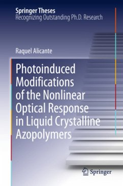 Photoinduced Modifications of the Nonlinear Optical Response in Liquid Crystalline Azopolymers - Alicante, Raquel
