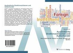 9783639425512 - Sprutacz, Maren: Ausländische Direktinvestitionen und Außenhandel - Liv