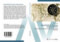 9783639425598 - Hoppe, Markus: Quantitative Process Improvement: Determining the Optimal Procedure for Improving Processes - Liv