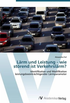 9783639425642 - Alexandra Feil: Lärm und Leistung - wie störend ist Verkehrslärm? - Buch