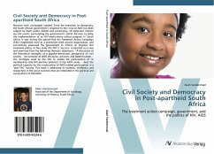 9783639425246 - Vandormael, Alain: Civil Society and Democracy in Post-apartheid South Africa - Liv