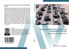 9783639425253 - Su, Qing: Urban Spatial Structure and Subsidized Travel - Liv