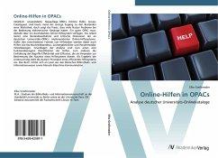 9783639425871 - Greifeneder, Elke: Online-Hilfen in OPACs: Analyse deutscher Universitäts-Onlinekataloge - Liv