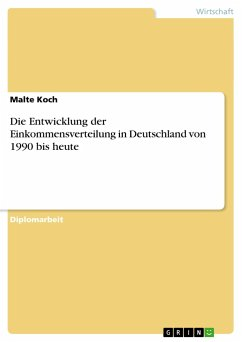 die entwicklung der einkommensverteilung in deutschland. Black Bedroom Furniture Sets. Home Design Ideas