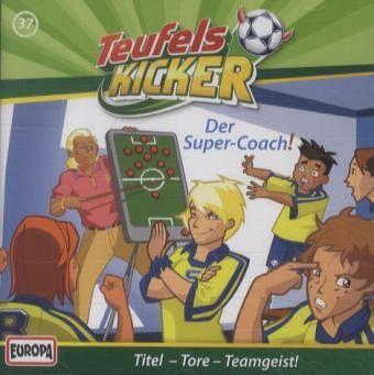 Der Super-Coach! / Teufelskicker Hörspiel Bd.37 (1 Audio-CD) - Nahrgang, Frauke