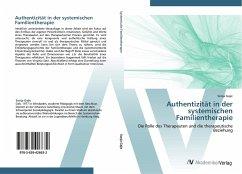 Authentizität in der systemischen Familientherapie