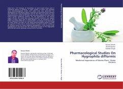 Pharmacological Studies On Hygrophila difformis