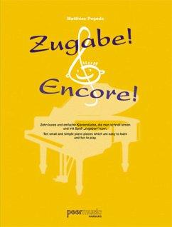 Zugabe! - Encore, für Klavier