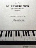 My Way, für Gesang und Klavier