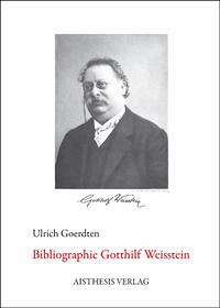 Bibliographie Gotthilf Weisstein