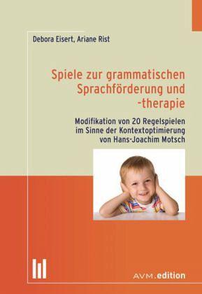 Spiele zur grammatischen Sprachförderung und -therapie von
