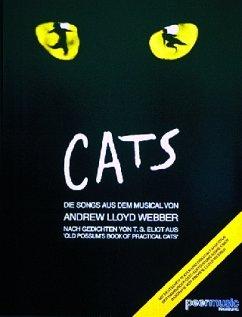 Cats, für Gesang u. Klavier