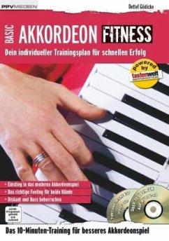 Akkordeon Fitness, m. Audio-CD