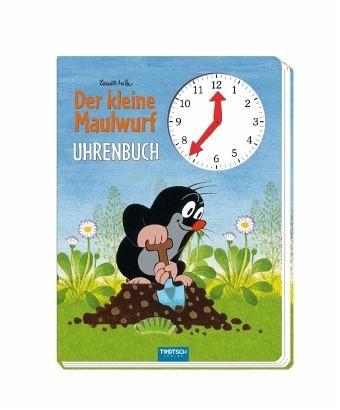 Der kleine Maulwurf Uhrenbuch - Miler, Zdenek