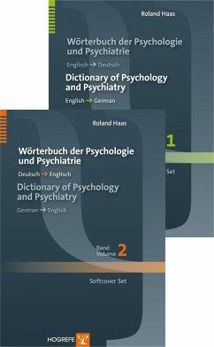 Wörterbuch der Psychologie und Psychiatrie / Di...