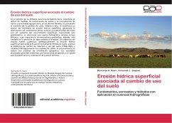 Erosión hídrica superficial asociada al cambio de uso del suelo