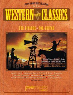 Western & Country Classics. Beliebte Western & Country Songs für Gitarre