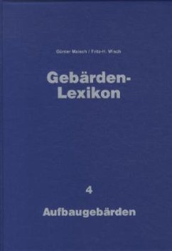 Gebärden-Lexikon. Band 4