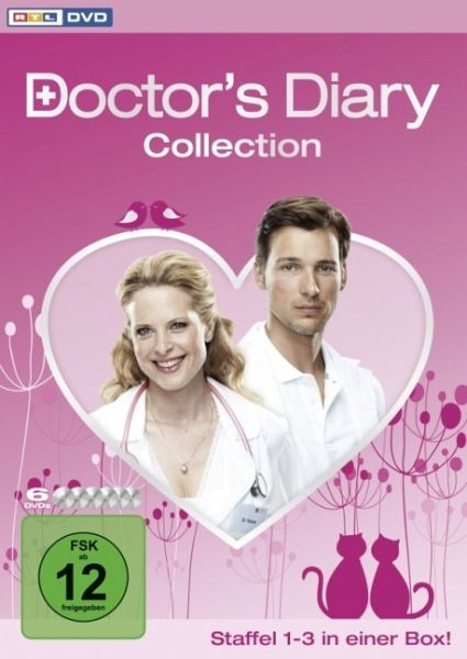 Doctor's Diary Collection - Staffel 1-3 in einer Box (6 Discs)