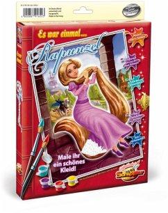 Noris 609150622 - Rapunzel, MNZ Malen nach Zahlen