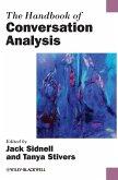 Handbook of Conversation Analysis