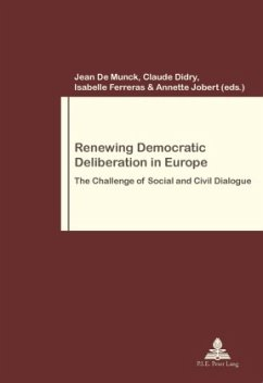 Renewing Democratic Deliberation in Europe