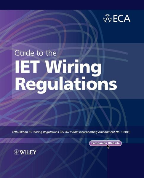 Guide To The Iet Wiring Regulations Von Electrical