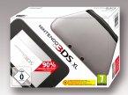 Nintendo 3DS XL silber+schwarz