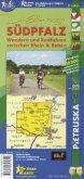 Die Erlebnisregion Südpfalz, Wander- und Radwanderkarte