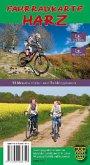Fahrradkarte Harz, 2 Bl.