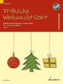 Fröhliche Weihnachtszeit, 1-2 Sopran-Blockflöten,m. Audio-CD