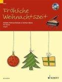 Fröhliche Weihnachtszeit für Klavier mit CD