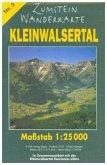 Zumstein Wanderkarte Kleinwalsertal
