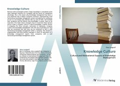 9783639431742 - Langhoff, Nina: Knowledge Culture: Cultural and Motivational Aspects of Knowledge Management - Knyga