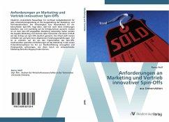 9783639431339 - Wolf, Ronny: Anforderungen an Marketing und Vertrieb innovativer Spin-Offs - Knyga