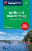 Kompass Wasserwander-Atlas Berlin und Brandenburg