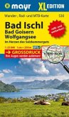 Mayr Karte Bad Ischl, Bad Goisern, Wolfgangsee