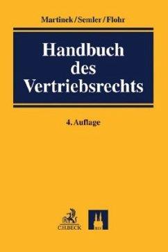 Handbuch des Vertriebsrechts