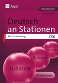 Deutsch an Stationen SPEZIAL Rechtschreibung 7-8