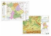 Bayern physisch / politisch, DUO-Schreibunterlage klein