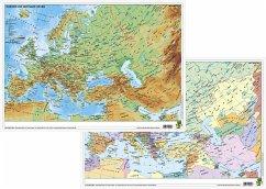 Stiefel Eurocart GmbH Europa und der Nahe Osten physisch/politisch. DUO-Schreibunterlage klein