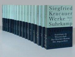 Werke in neun Bänden (16 Tl.-Bde.) - Kracauer, Siegfried