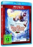 Disneys Eine Weihnachtsgeschichte (Blu-ray 3D, Blu-ray 2D, 2 Discs)