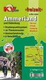 KVplan Freizeit Ammerland Landkreis mit Stadt Oldenburg und Ammerlandroute