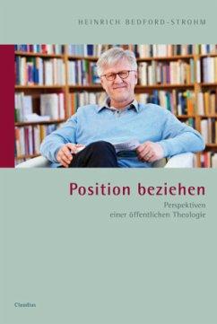 Position beziehen - Bedford-Strohm, Heinrich